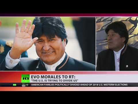 Evo Morales: The US is trying to divide us