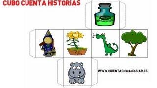STORY CUBES CUBOS CONTADORES DE HISTORIAS