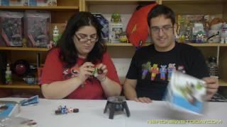 K'Nex Mario Kart Bike Building Set Review - Yoshi & Toad