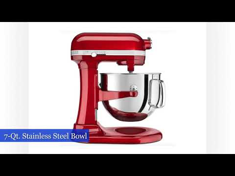 , KitchenAid KSM7586PCA 7-Quart  Pro Line Stand Mixer Candy Apple Red