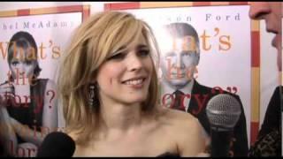 Harrison Ford Rachel McAdams with Brad Blanks Morning Glory Premiere