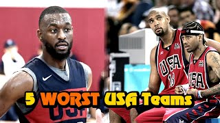 The 5 WORST Team USA Performances In History