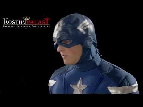 Captain America Deluxe Kostüm