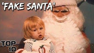 Top 10 Scariest Mall Santa