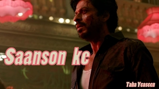 Saanson Ke-Official Lyrical Video - RAEES | KK