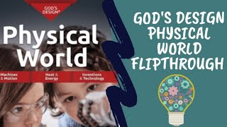 MASTERBOOKS GODS DESIGN PHYSICAL WORLD||5TH GRADE SCIENCE CURRICULUM FLIPTHROUGH