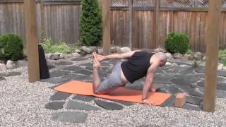 standing hip openers baron baptiste yomefree yoga videos