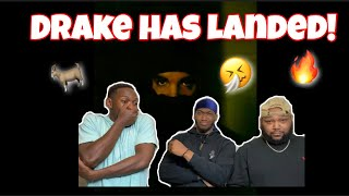 Drake - Landed (Audio) REACTION!