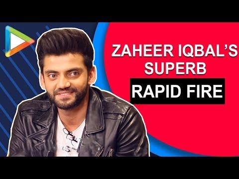 """I'd like to steal Salman Khan's PURITY"": Zaheer Iqbal| Rapid Fire | Notebook | Pranutan Bahl"