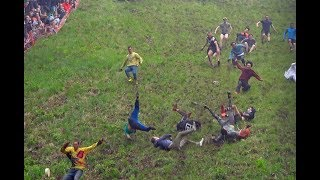 Injuries after cheese rolling event