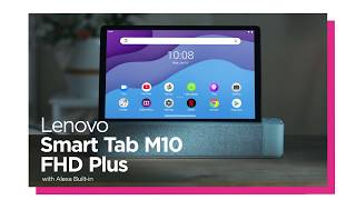 YouTube Video FP0lLzj2qLM for Product Lenovo Smart Tab M10 FHD Plus (2nd Gen) with Alexa Built-in by Company Lenovo in Industry Tablets