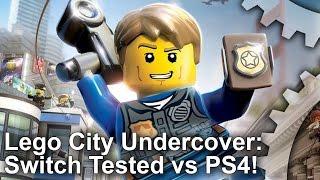Switch vs PS4/Xbox One! Lego City Undercover Comparison!