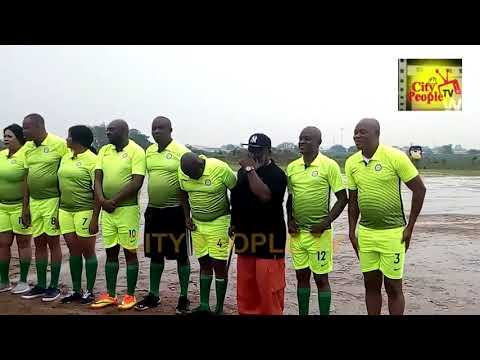 HOT FOOTBALL CONTEST: ACTORS GUILD ALL-STARS VS NIGERIA ARMY