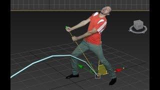 3ds max изменение интерполяции при движении по сплайну (плавная остановка объекта по сплайну)