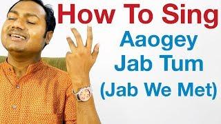 "Aaoge Jab Tum - Singing Lesson ""Bollywood   - YouTube"