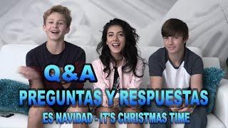 """Giselle - Preguntas y Respuestas de """"Es Navidad"""""""