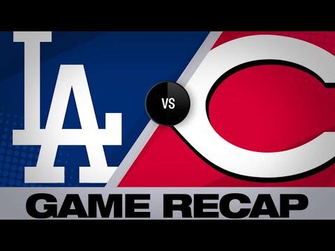 5/18/19: Winker homers, Reds shut out Dodgers