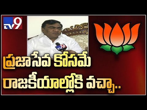 Face to face with BJP leader Babu Mohan