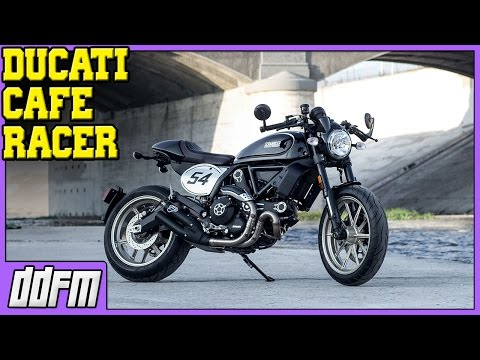 2017 Ducati Scrambler Cafe Racer First Look / EICMA 2016