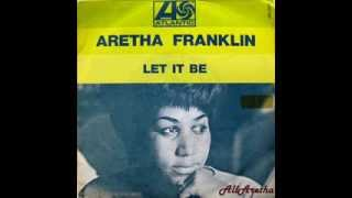 """Aretha Franklin - Let It Be / Son Of A Preacher Man - 7"""" France - 1969"""