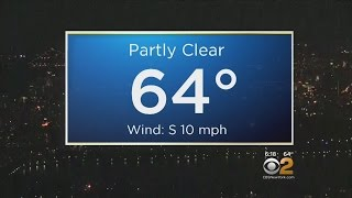 Temps Will Drop Throughout Weekend