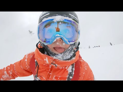 You Won't Believe What This 11-Year-Old Can Do On Skis at Jackson Hole