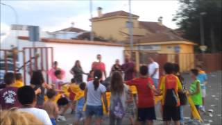 preview picture of video 'Fiestas Seseña 2013 -  Encierro Infantil'