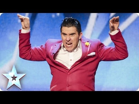 Ricky K's laugh out loud love story | Britain's Got Talent 2014