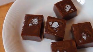 Making Chocolate Caramels - Recipe Lab