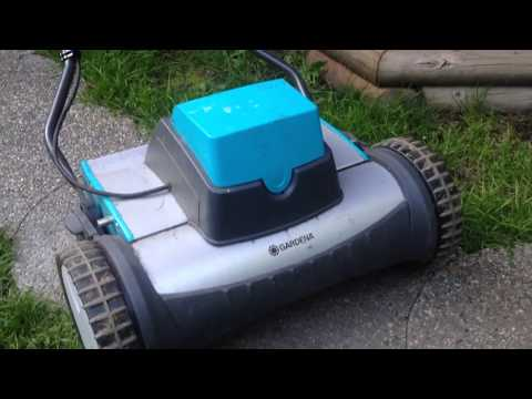 Gardena electric reel mower