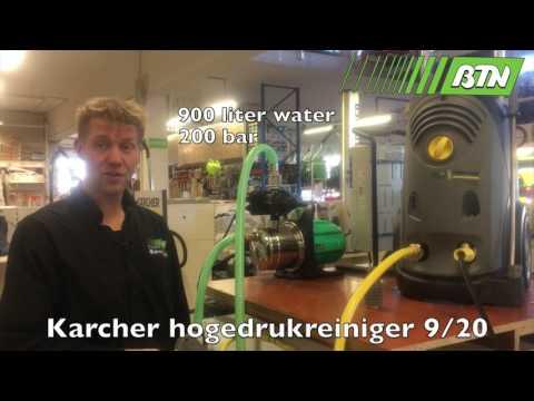 BTN de Haas - Hogedrukreiniger HD 9/20 max 220 bar Karcher