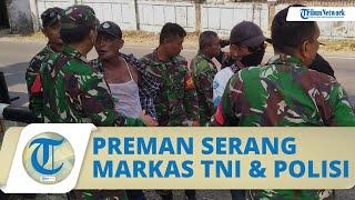 Kronologi Awal Kelompok Preman Nekat Serang Markas TNI & Polisi di Garut, 2 Orang Ditangkap
