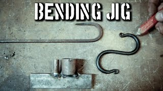 Basic Blacksmith Bending Jig: S Hook Jig for Beginners