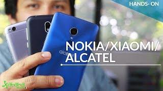 Nokia 1, Redmi 5A y Alcatel 3C: enfrentamos los mejores en la gama baja de México