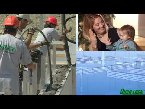 Insulated Concrete Forms (ICF) benefits