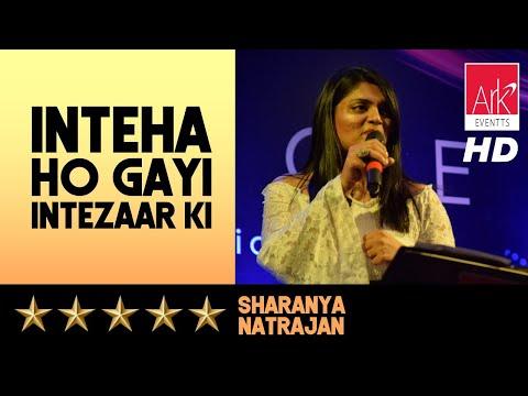 Melange – Inteha Ho Gayi Intezaar Ki – Sharanya Natrajan