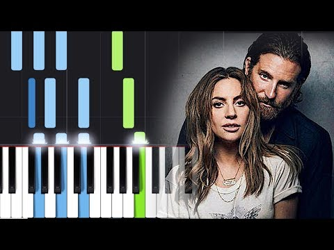 Lady Gaga, Bradley Cooper - Shallow (A Star Is Born) Piano Tutorial