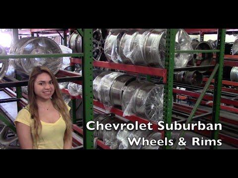 Factory Original Chevrolet Suburban Wheels & Chevrolet Suburban Rims – OriginalWheels.com