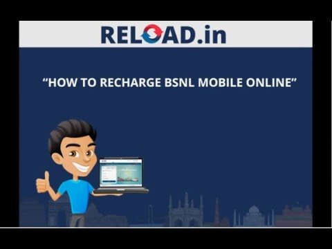 How to Recharge BSNL Mobile Online | Video Tutorial - Reload in