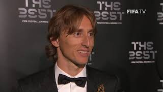 Luka Modric interview - The Best FIFA Men's Player 2018 (ENGLISH)