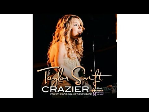 Crazier - Taylor Swift (Official Instrumental With Video Lyric)