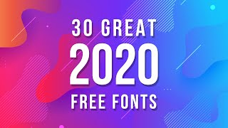 Best Free Fonts for Designers 2020 | 30 Great Free Fonts