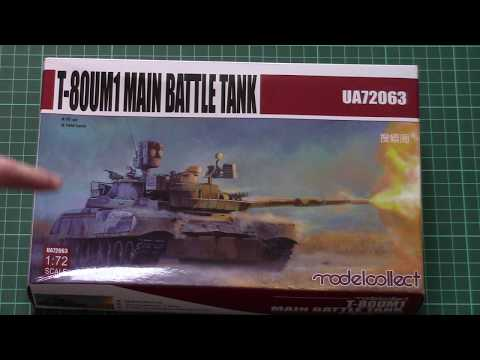 Model Collect 1//72 UA72063 T-80UM1 Main Battle Tank