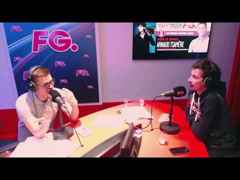 ARNAUD TSAMERE sur Radio FG - 30/01/2018