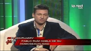 El cantante Pablo Ruiz habla de su homosexualidad