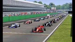 All F1 2018 Cars vs All F1 2004 Cars - Monza