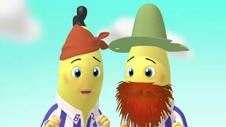 Treasure Hunt - Animated Episode - Bananas In Pyjamas Official
