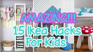 AMAZING!!! Ikea Hacks For Kids