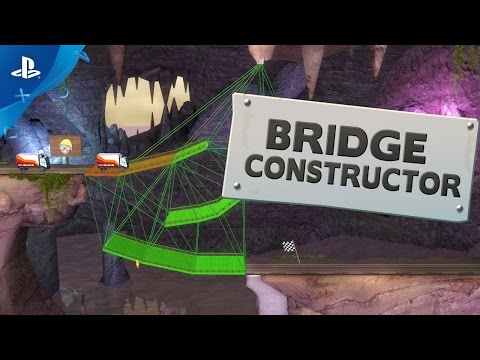 Bridge Constructor - Gameplay Trailer | PS4 thumbnail