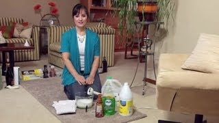 Home remedy for cleaning your carpets